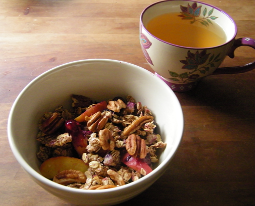 Blueberry Peach Granola 1