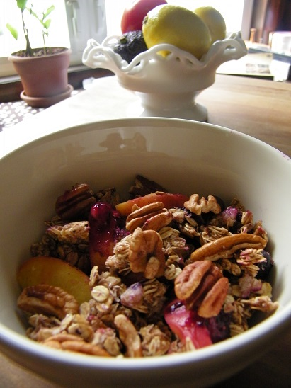 Blueberry Peach Granola 2