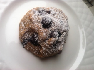 Blueberry scones 1